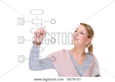 Woman With Graphic