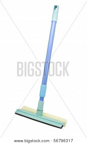 Mop With Scraper For Cleaning Windows
