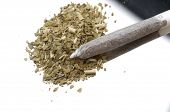 pic of marijuana cigarette  - closeup of a  cigarette from hand - JPG