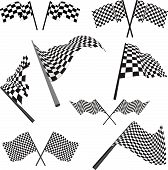Racing Flags Set