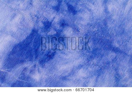 Watered Denim Fabric