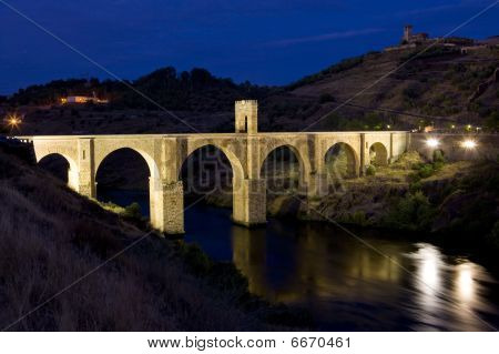 Roman bridge Alcantara
