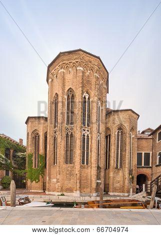 The San Gregorio church in Venice, Italy