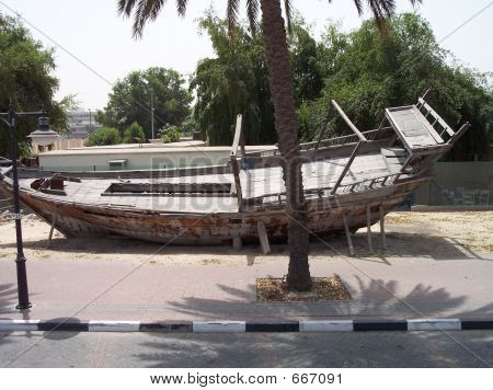 Old Wooden Dhow