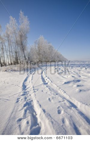 road at winter