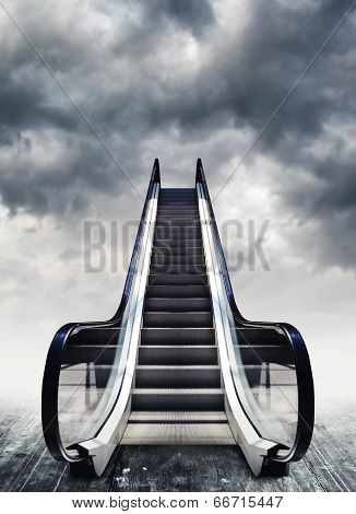 Escalators, Conceptual Image.