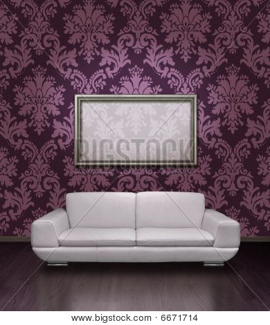 Modern Sofa And Frame