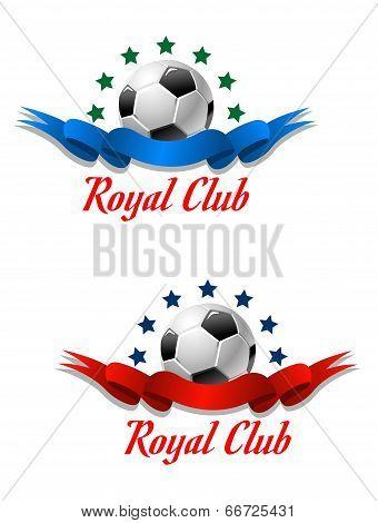 Royal Club soccer championship emblem