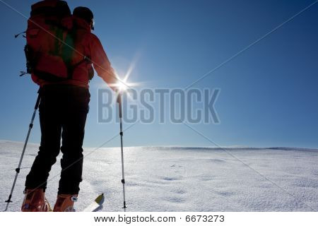 Backcountry Skier (ski Touring)