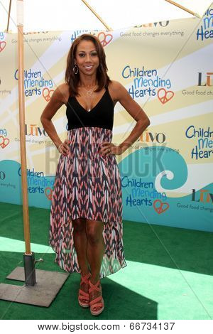 LOS ANGELES - JUN 14:  Holly Robinson Peete at the Children Mending Hearts 6th Annual Fundraiser at Private Estate on June 14, 2014 in Beverly Hills, CA