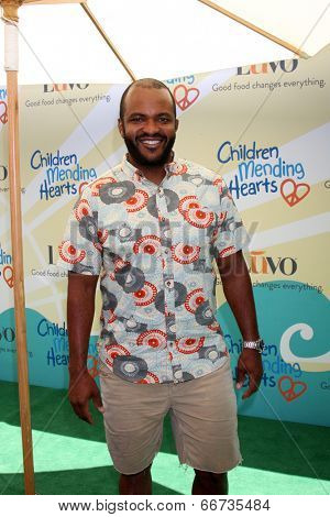 LOS ANGELES - JUN 14:  Sal Masekela at the Children Mending Hearts 6th Annual Fundraiser at Private Estate on June 14, 2014 in Beverly Hills, CA