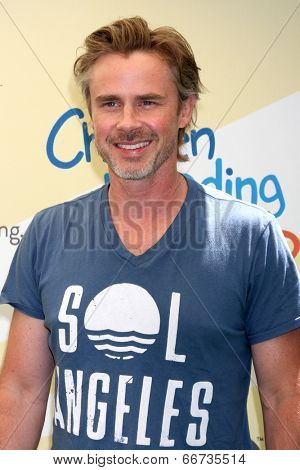 LOS ANGELES - JUN 14:  Sam Trammell at the Children Mending Hearts 6th Annual Fundraiser at Private Estate on June 14, 2014 in Beverly Hills, CA