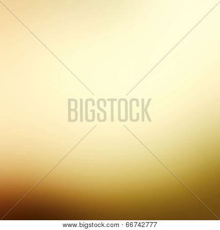 Abstract Gold Background Luxury Christmas Holiday Or Pale Wedding Background Brown Frame Smooth Vint