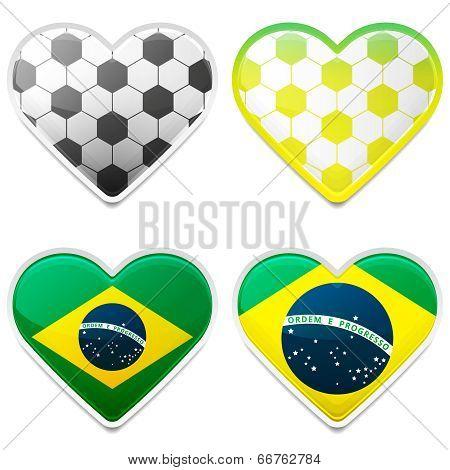 Football Hearts