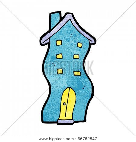 cartoon house doodle