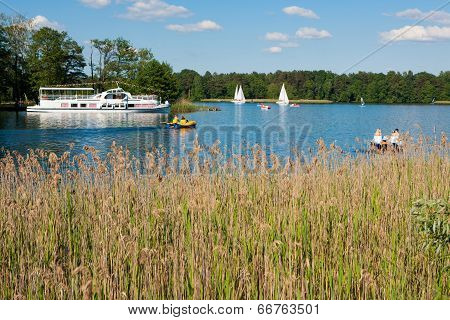 Galve Lake In Trakai