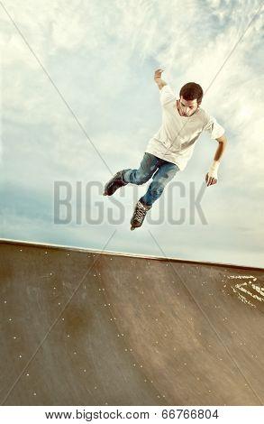 Rollerblade Hang Time