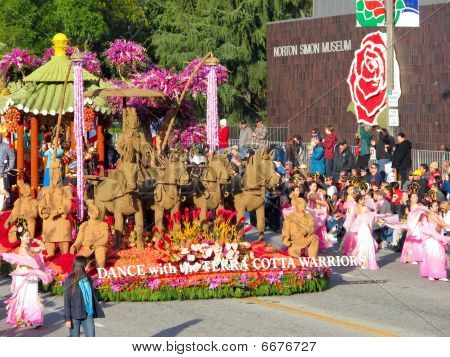 Phoenix Satellite Television (u.s.) Inc. Presents: The Dance With The Terra Cotta Warriors Float