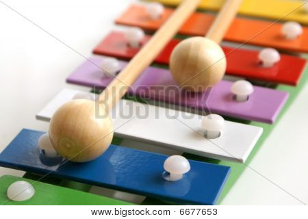 Toy Colorful Xylophone