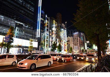 Tokyo - November 23: Street Life In Shinjuku District
