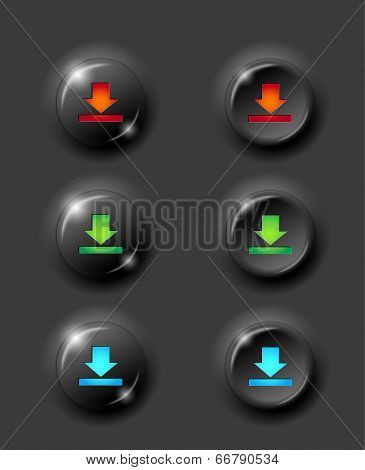 Black Buttons Download