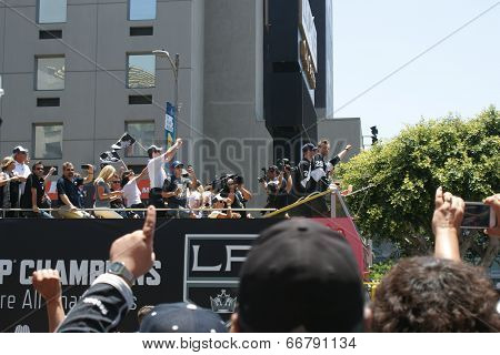 LA Kings Championship Parade 2014