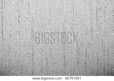 Corrugated Texture Of Gray Color With Stamping