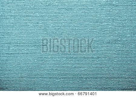 Corrugated Texture Of Indigo Color With Stamping