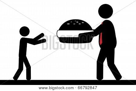 Hamburger for children