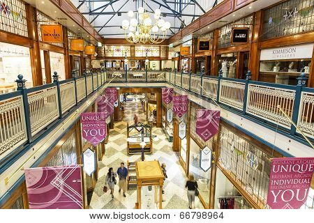 Brisbane Shopping Arcade