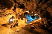 image of crystallography  - Krychtaleva cave indoor view - JPG