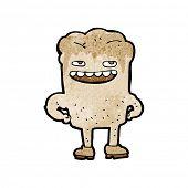 stock photo of bad teeth  - cartoon bad tooth - JPG