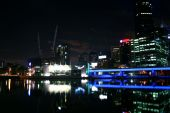 Yarra River By Night, Melbourne, Australia