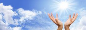 stock photo of hand god  - Healer - JPG