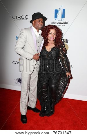 LOS ANGELES - NOV 19:  Wayne Brady, Chaka Khan at the Ebony Power 100 Gala at the Avalon on November 19, 2014 in Los Angeles, CA