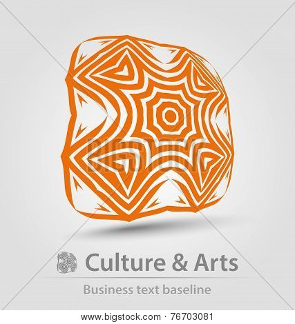 Culture And Art Business Icon
