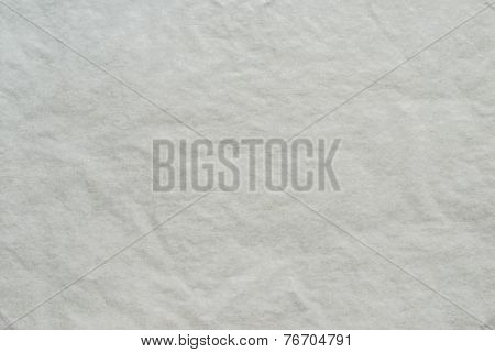 Texture Of Thin Crumpled Dark White Paper