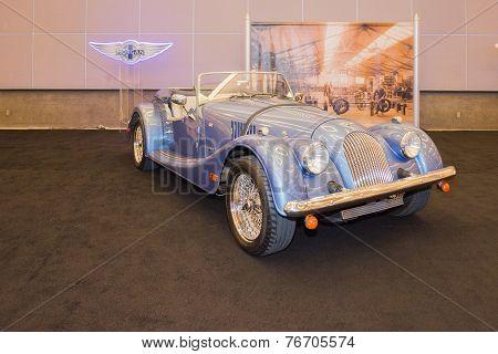 Morgan Roadster Car On Display