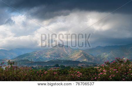Sicilian mountains