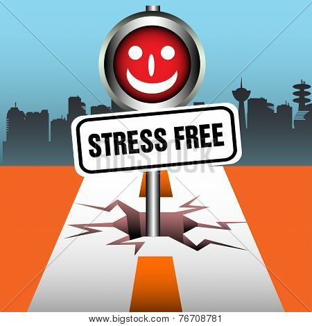 Stress free signpost