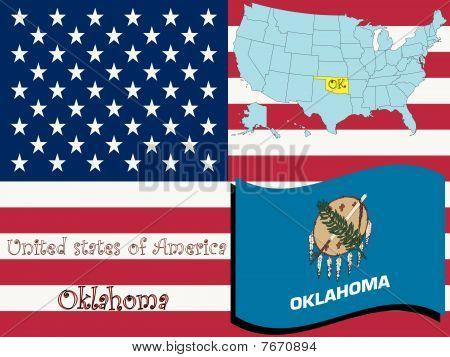 Ilustración del estado de Oklahoma