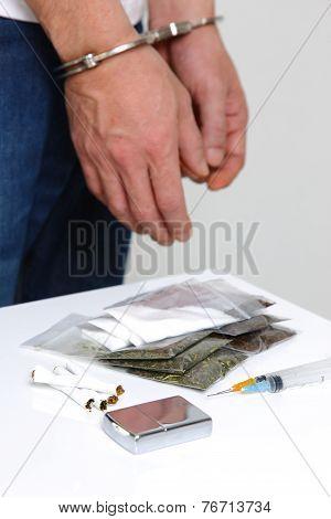 arrested drug dealer