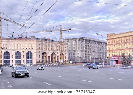 Moscow. Lubyanka Square