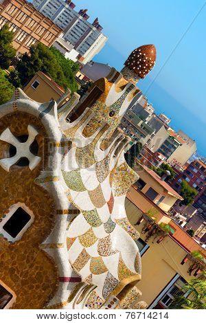 Park Guell - Barcelona Spain