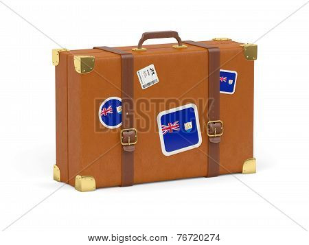 Suitcase With Flag Of Anguilla