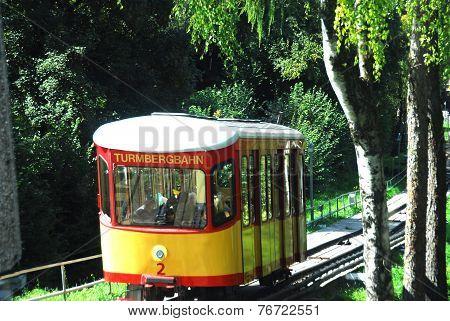 funicular in Karlsruhe