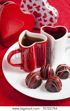 Handmade Chocolate Truffle For Valentines Day