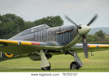 Vintage British Hawker Sea Hurricane