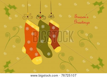 Christmas Card With Text 04