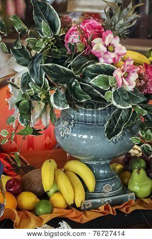 Unique Vintage Flowers Decoration
